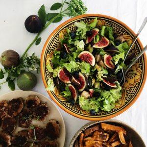 Salat opskrift med figner