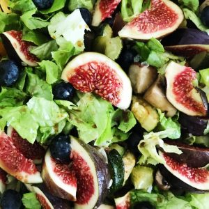 Efterårs salat med figner
