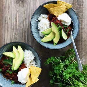 Opskrift chili con carne