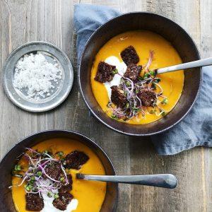 Suppe med hokkaidogræskar