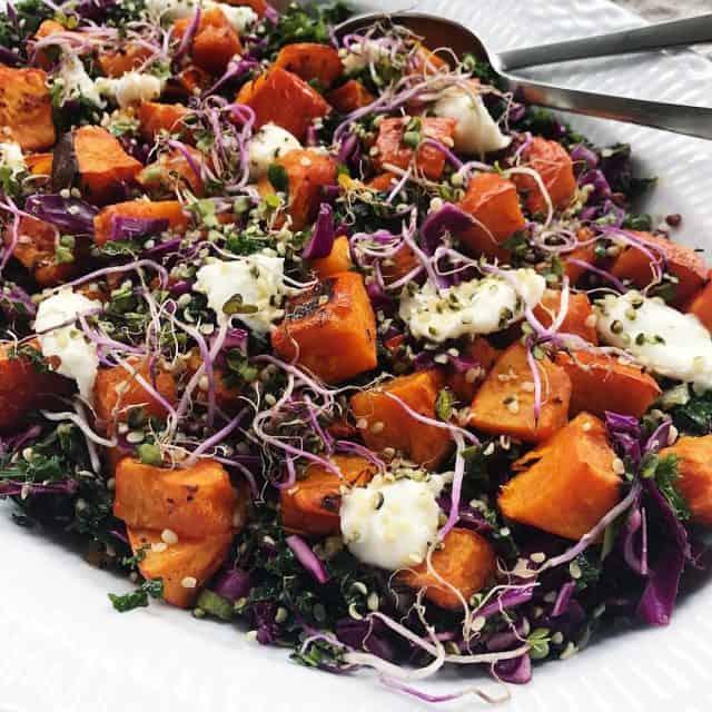 Den bedste efterrs salat