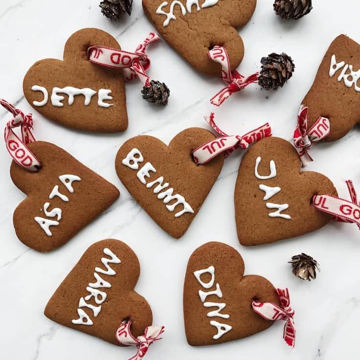 Peberkager med glasur – også til pynt