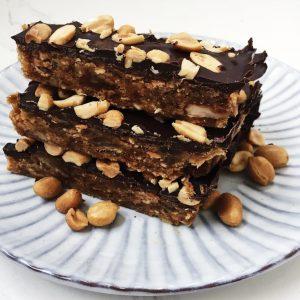 Hjemmelavet snickers