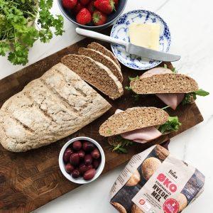 Groft brød opskrift