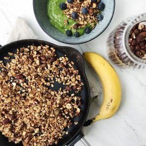 Granola med banan