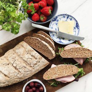 Opskrift på groft brød