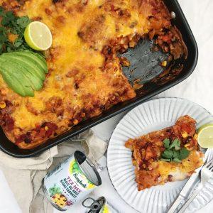 Opskrift mexicansk lasagne