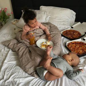 Fastfood i sengen