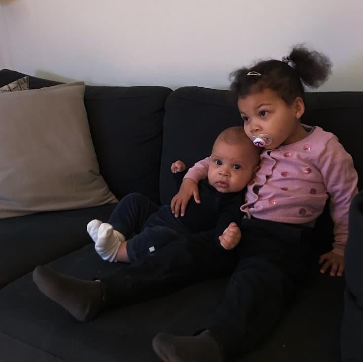 Lillebror fem måneder