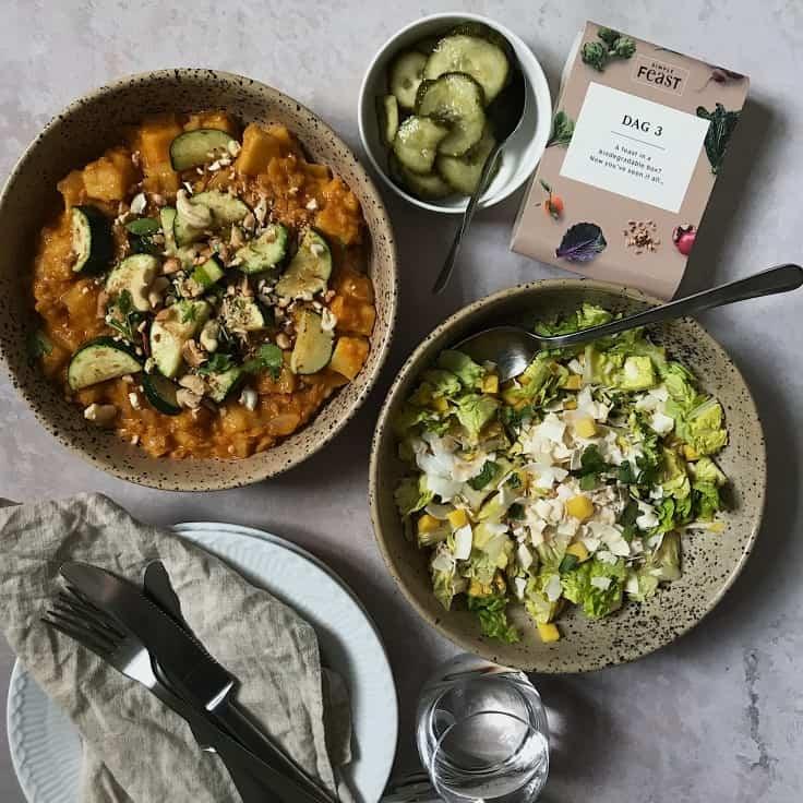 Vegetarisk hverdagsmad på 10min med Simple Feast