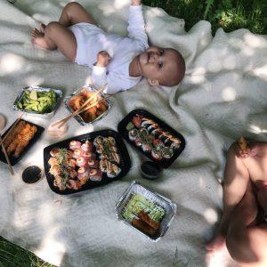 Sushi og børn