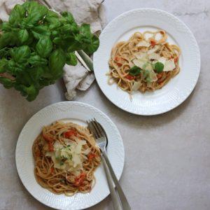 One pot pasta vegetarret
