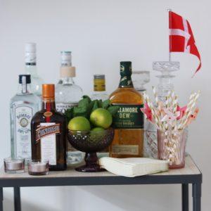 Cocktail bar og drinks