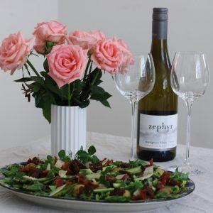 Forårs salat med asparges