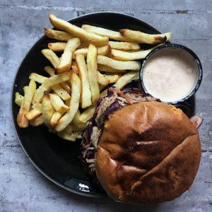 Hungry Dane burger