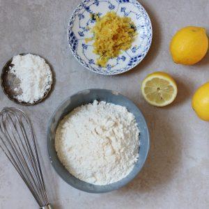 Opskrift citronkage