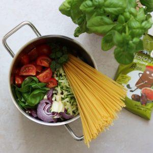 One pot pasta vegetarisk