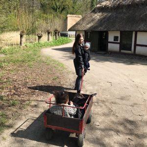 Forår i den fynske landsby