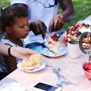 Marengslagkage til børnefødselsdag