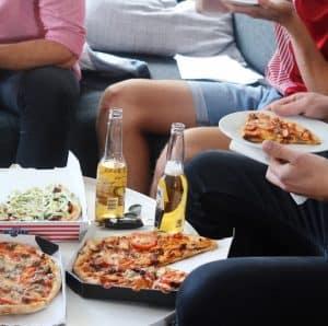 Pizza og øl