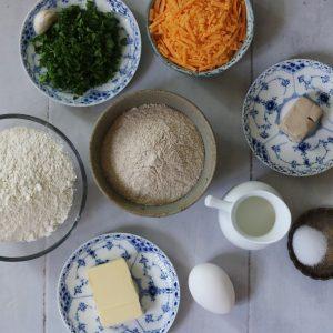 Ostebrød ingredienser