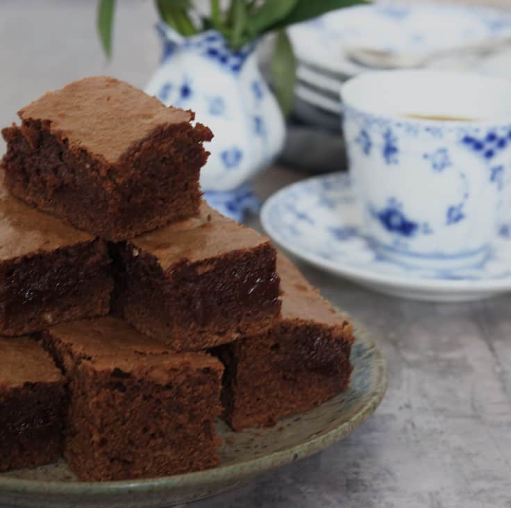 Brownie med kaffe – en chokoladedrøm