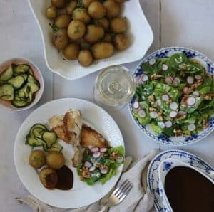 Gammeldags agurkesalat