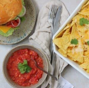 Hjemmelavet tomatsalsa