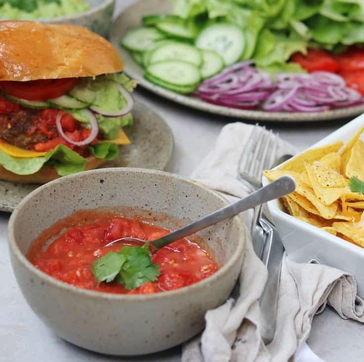 Tomatsalsa – mexicansk inspireret salsa