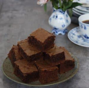 Brownies med kaffe