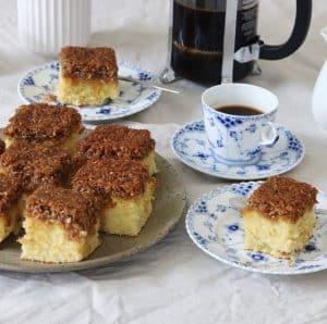 Drømmekage med kokosglasur