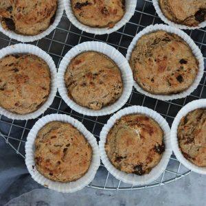 Muffins med rugmel