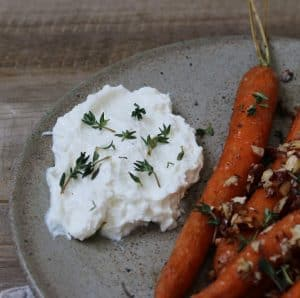Ovn bagte gulerødder