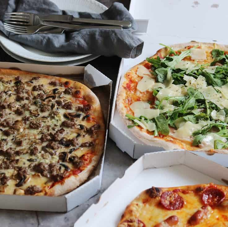 De fem bedste take away pizzaer i Odense