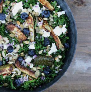Blåbær salat