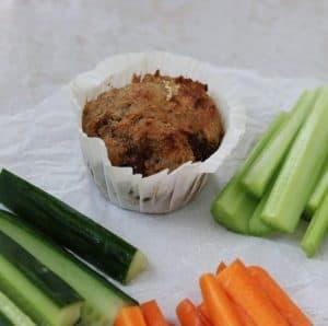 Rugbrøds muffins
