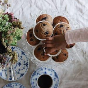 Kirsebærmuffins