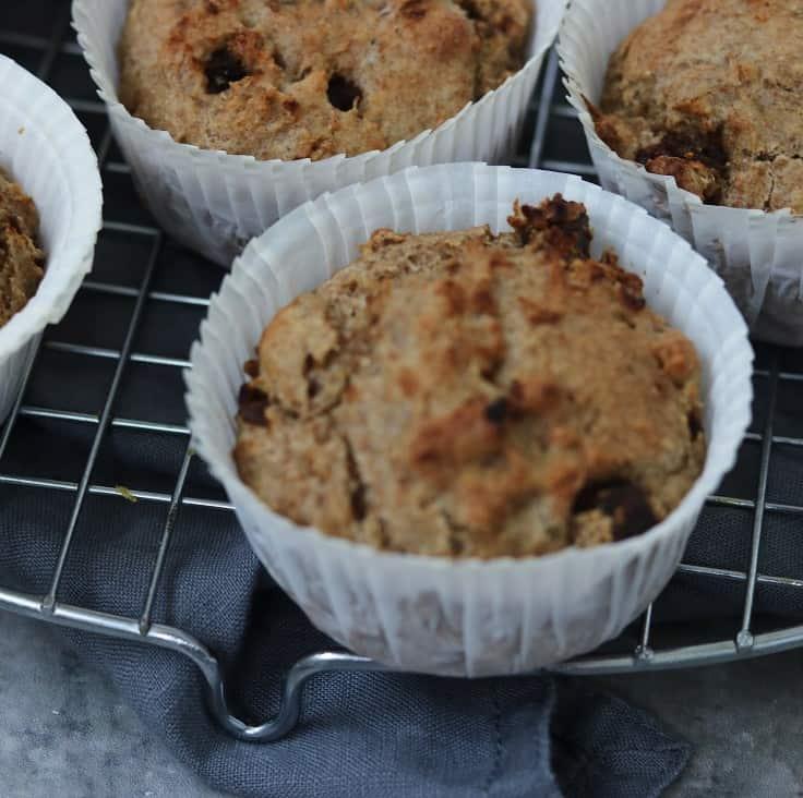 Rugmuffins – fiberrige og sunde