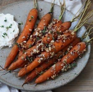 Ovnbagte gulerødder