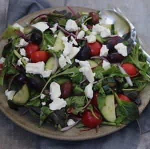 græsk salat dressing