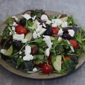 Klassisk græsk salat