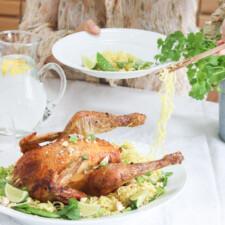 Limemarineret kylling