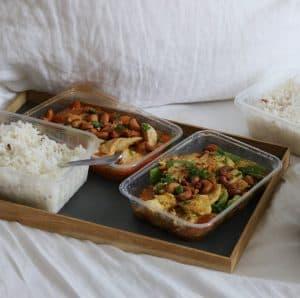 Thai street food take away