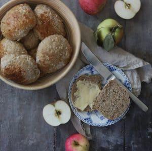 Boller med æble