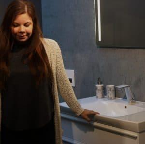 Nybygger badeværelse