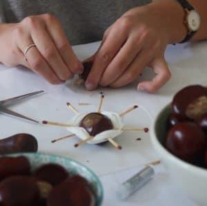 Hvordan man laver kastanjedyr