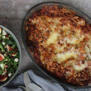 Knorr og lasagne