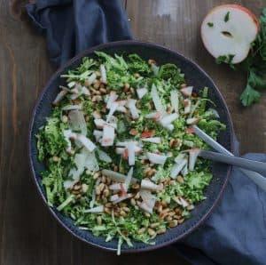 Salat med broccoli og spidskål