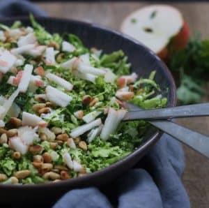Grønsalat med broccoli