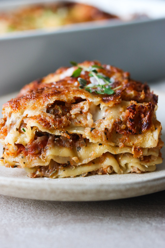 Lasagne med quinoa